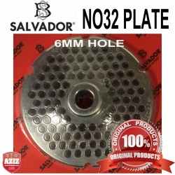 No32, 6mm Salvador Mincer Plate