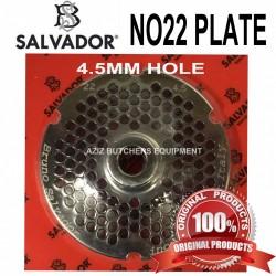 No22, 4.5mm Salvador Mincer Plate