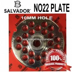 No22, 10mm Salvador Mincer Plate