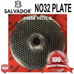 No32, 3mm Salvador Mincer Plate